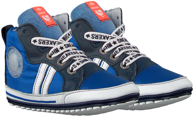 Blauwe SHOESME Babyschoenen BP20S006  - large