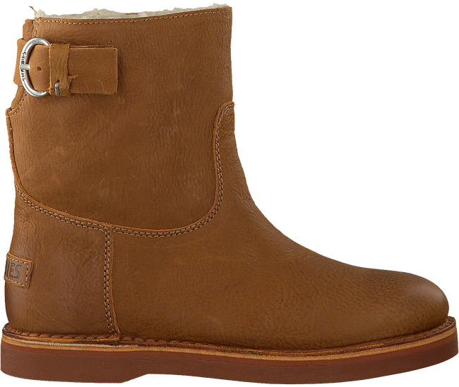 Cognac SHABBIES Enkelboots 181020054  - large