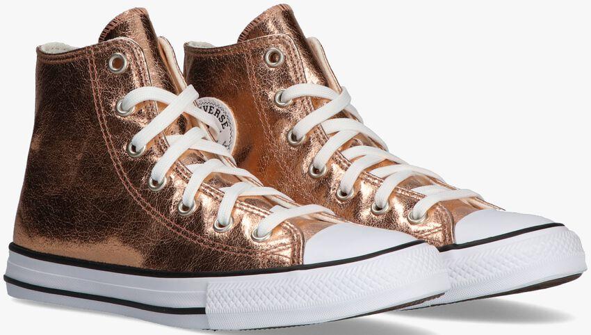 Gouden CONVERSE Hoge sneaker CHUCK TAYLOR ALL STAR  HI  - larger