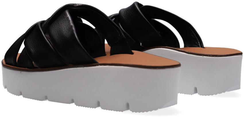 Zwarte PAUL GREEN Slippers 7641  - larger