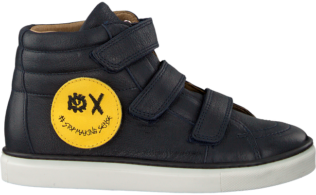 Blauwe SVNTY Sneakers SMILEY - large