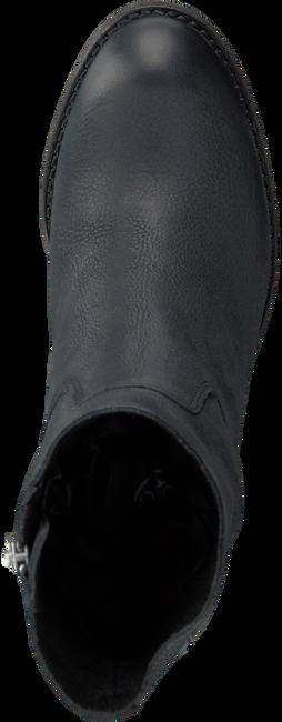 Zwarte SHABBIES Enkellaarsjes 250108  - large