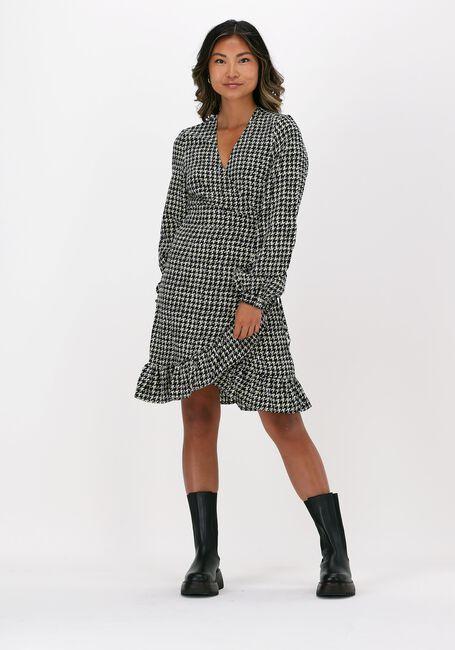 Zwarte FREEBIRD Mini jurk ROSY LS - large