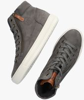 Grijze PAUL GREEN Hoge sneaker 4024  - medium