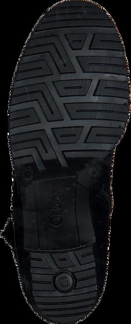 Zwarte GABOR Enkellaarsjes 803.1  - large