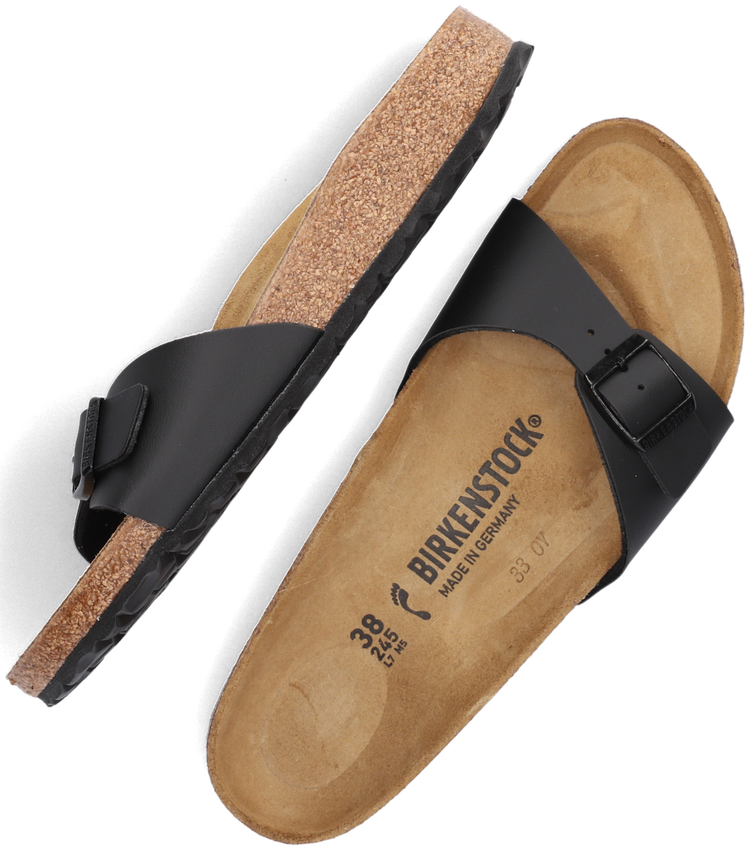 Zwarte BIRKENSTOCK PAPILLIO Slippers MADRID  - larger