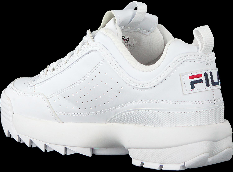 Disruptor nl Omoda Witte Fila Low Wmn Sneakers S 8n0POkXw
