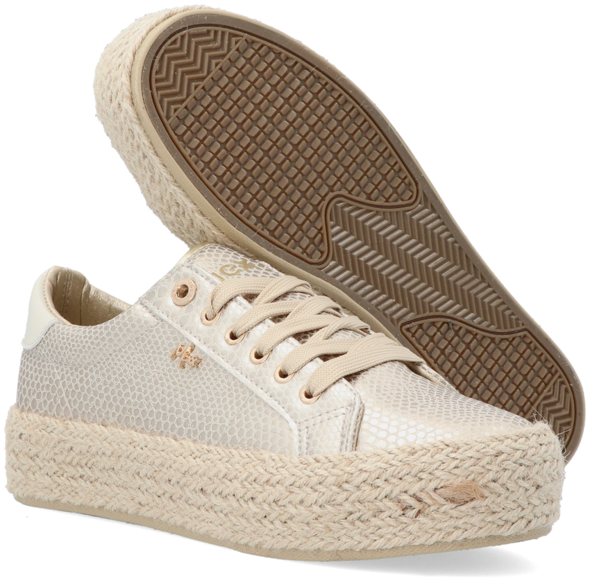 Gouden MEXX Lage sneakers CHEVELIJN 05  - larger