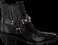 Zwarte BILLI BI Enkellaarsjes 4740  - medium