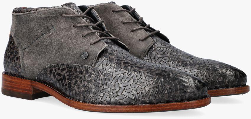 Grijze REHAB Nette schoenen SALVADOR WEAVE  - larger