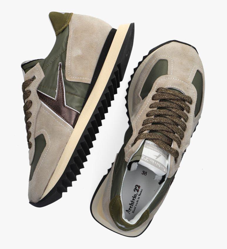 Groene ARCHIVIO 22 Hoge sneaker 430  - larger