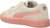 Beige PUMA Sneakers SUEDE HEART JEWEL INF  - small