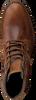 Cognac GAASTRA Enkelboots CREW HIGH BOAT - small