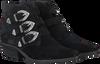 Zwarte BRONX Enkellaarsjes 46856  - small