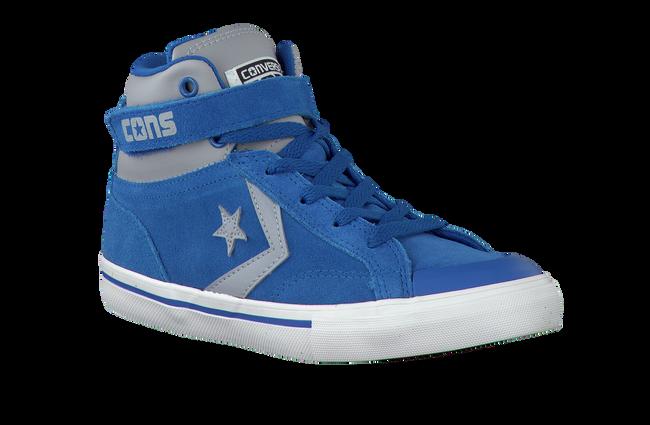 Blauwe CONVERSE Sneakers PRO BLAZE STRAP HI KIDS  - large