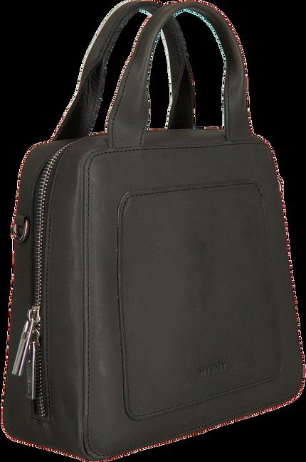 Zwarte MYOMY Schoudertas MY LOCKER BAG HANDBAG  - large
