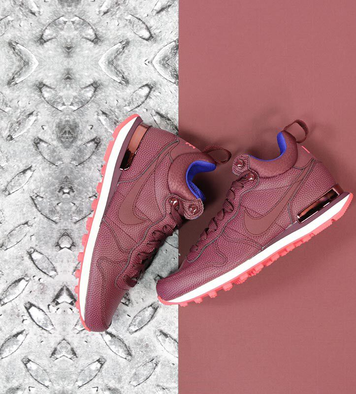 nike internationalist mid rood