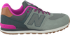Grijze NEW BALANCE Sneakers KL574  - small