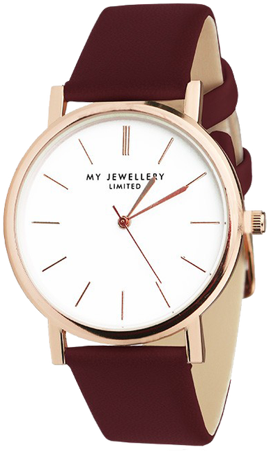 Rode MY JEWELLERY Horloge MY JEWELLERY LIMITED WATCH - large