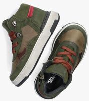 Groene PINOCCHIO Hoge sneaker P1481  - medium