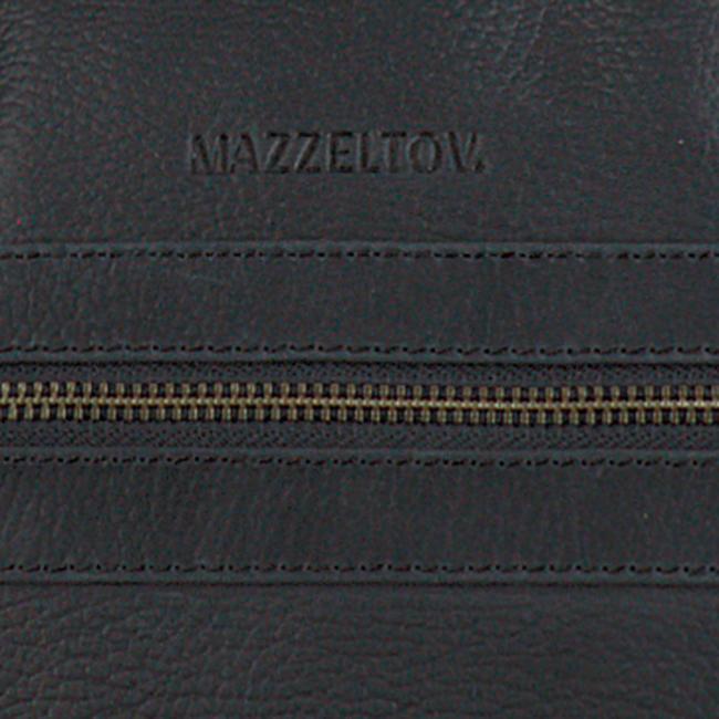 Zwarte MAZZELTOV Laptoptas 18296  - large
