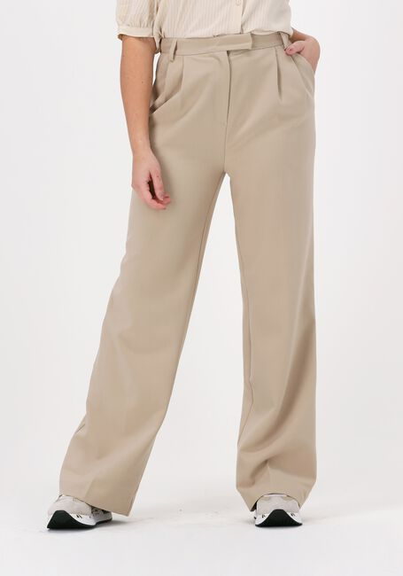 Beige ANOTHER LABEL Pantalon MOORE PLEATED PANTS  - large