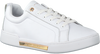Witte TOMMY HILFIGER Lage sneakers BRANDED OUTSOLE METALLIC  - small