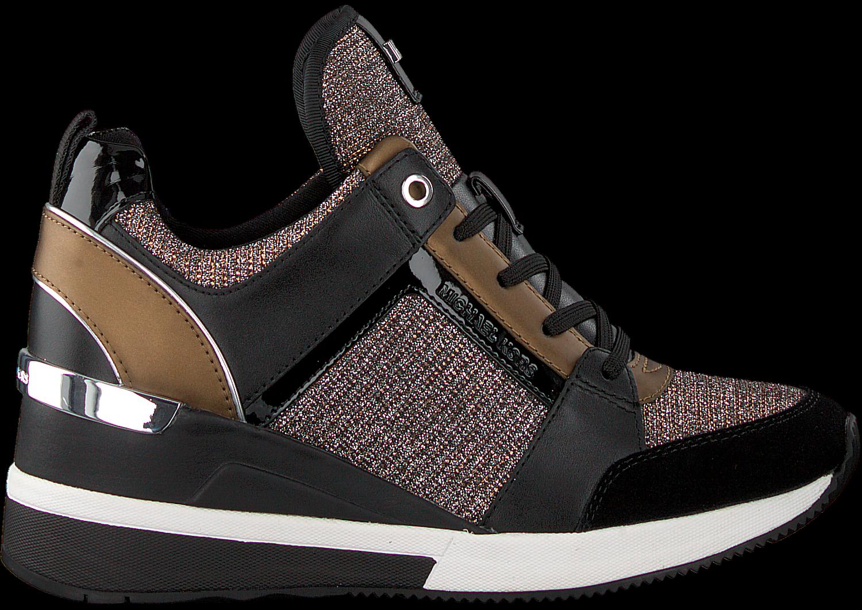 Zwarte MICHAEL KORS Sneakers GEORGIE TRAINER Omoda.nl
