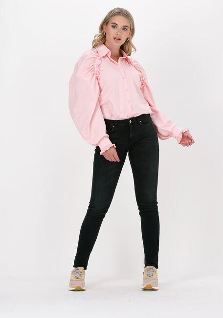Roze HUNKON Blouse 410 DEMI SHIRT - large