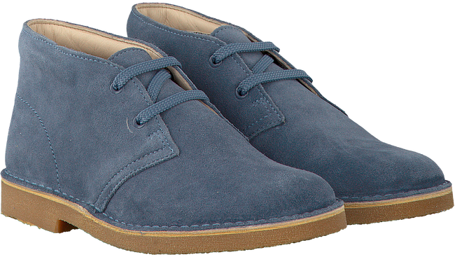 Blauwe CLARKS Veterschoenen DESERT BOOT KIDS  - large