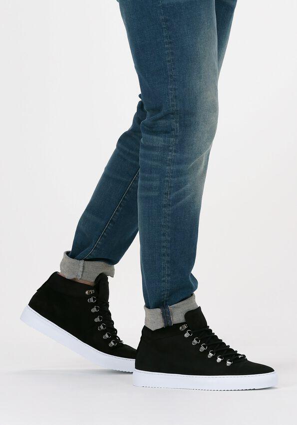 Zwarte NUBIKK Hoge sneaker JASE MID  - larger