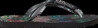 Zwarte HAVAIANAS Slippers SLIM TROPICAL  - medium