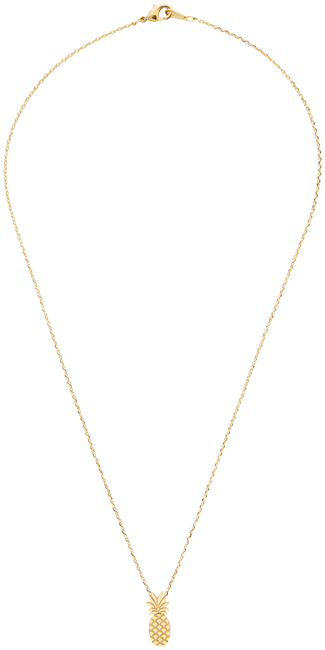 ALLTHELUCKINTHEWORLD KETTING ELEMENTS NECKLACE TALL PINEAPP - large