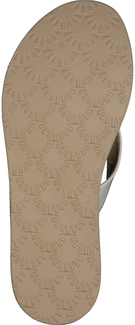 Witte UGG Slippers TAWNEY  - large