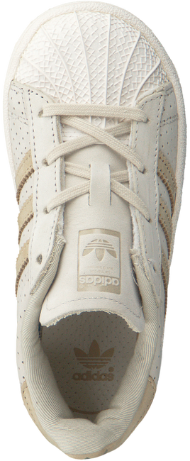 Beige ADIDAS Sneakers SUPERSTAR FASHION C  - large