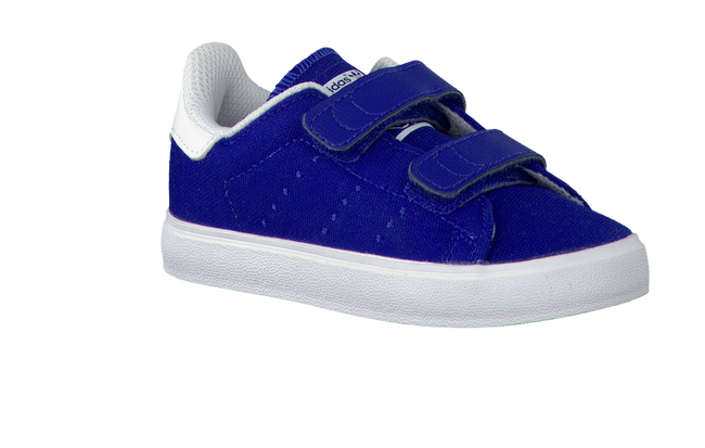 Blauwe ADIDAS Sneakers STAN SMITH KIDS  - large