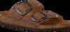 Bruine BIRKENSTOCK Slippers ARIZONA BIG BUCKLE  - small