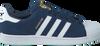 Blauwe ADIDAS Sneakers SUPERSTAR HEREN  - small