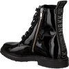 Zwarte NUBIKK Veterboot LILOU ROCK PATENT - small