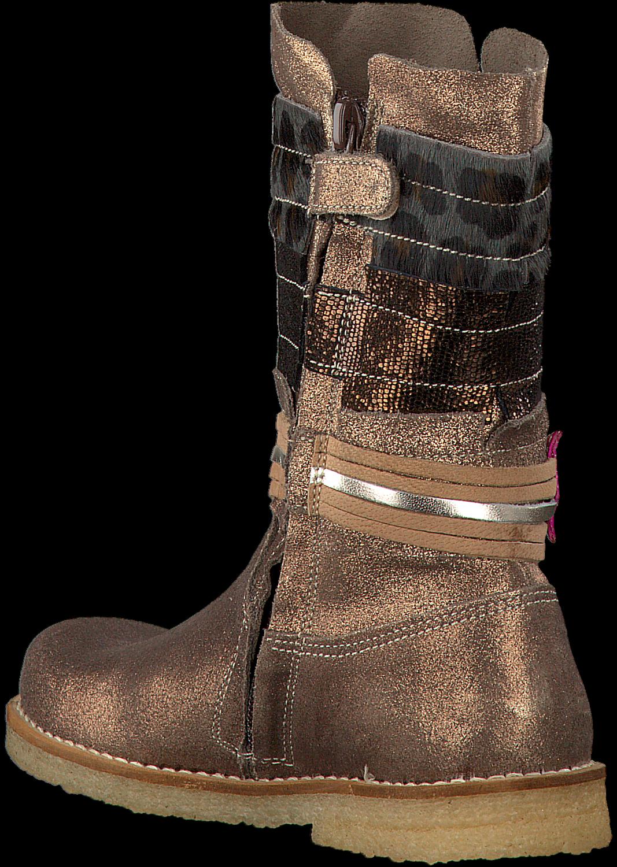 Bronzen SHOESME Lange laarzen CR7W092 | Omoda