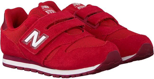Rode NEW BALANCE Lage sneakers YV373/IV373  - large
