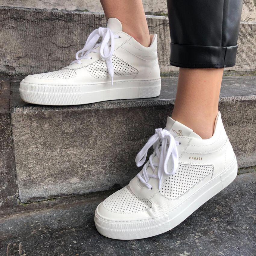 Witte COPENHAGEN STUDIOS Lage sneakers CPH402  - larger