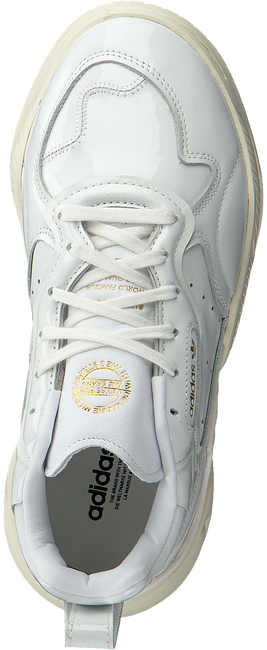 Witte ADIDAS Lage sneakers SUPERCOURT RX W  - large