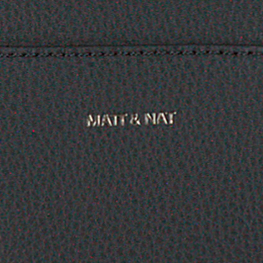 Zwarte MATT & NAT Schoudertas PERCIO DIAPER BAG  - larger