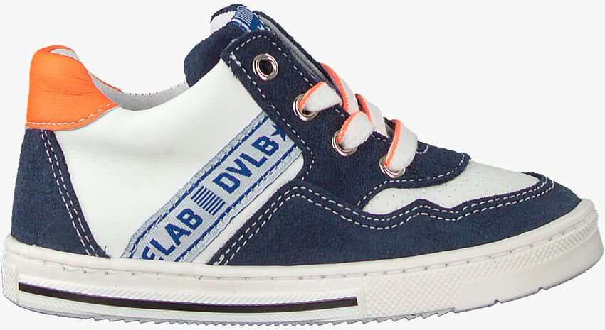 Blauwe DEVELAB Lage sneakers 41307  - larger