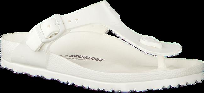 Witte BIRKENSTOCK Slippers GIZEH HEREN  - large