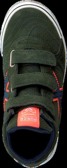 Groene MUNICH Hoge sneaker G3 BOOT VELCRO  - large