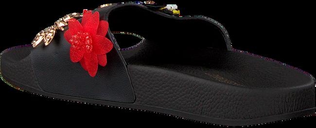 Zwarte THE WHITE BRAND Slippers FLY - large