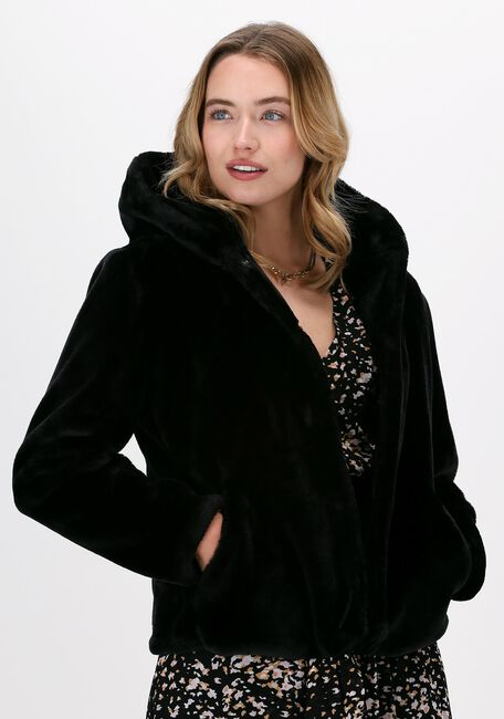 Zwarte GIACOMO THE JACKET Faux fur jas 13 LT FUR  - large
