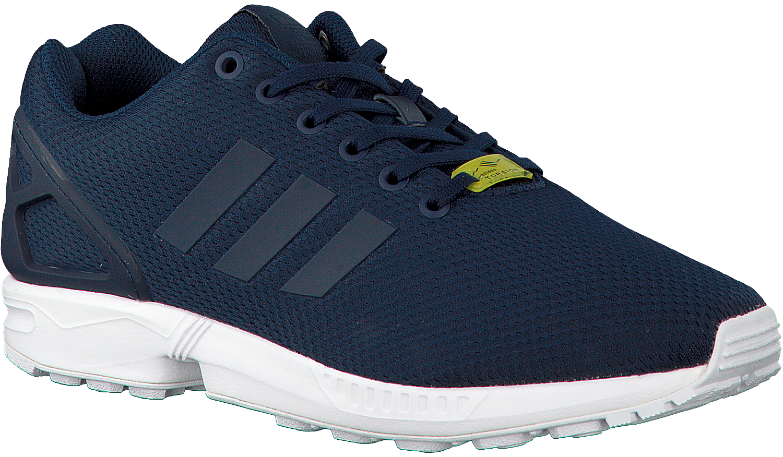 adidas zx flux heren blauw
